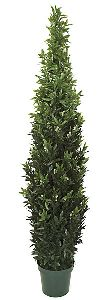 Artificial Topiary Trees, Outdoor Topiary, 6 feet   Plastic Verbena Topiary